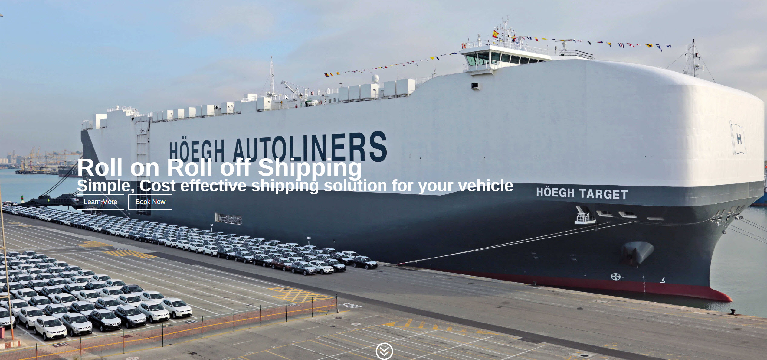 Roll On Roll Off Shipping (RORO)